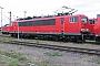 """LEW 18217 - Railion """"155 232-2"""" 13.06.2004 - Mannheim, BetriebswerkErnst Lauer"""