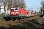 "LEW 18231 - DB Regio ""143 008-1"" 11.03.2007 - Ratingen OstErwin Rosenberger"