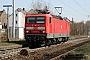 """LEW 18240 - DB Regio """"143 017-2"""" 01.04.2009 - Wiesbaden-BiebrichHagen Schilder"""