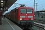 """LEW 18245 - DB Regio """"143 022-2"""" 29.11.2007 - Nürnberg, HauptbahnhofMartin Bauer"""