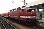 """LEW 18254 - DB Regio """"143 031-3"""" 12.06.2002 - Mannheim, HauptbahnhofOliver Wadewitz"""