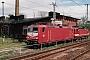 """LEW 18258 - DB AG""""143 035-4"""" __.05.1997 - Halle (Saale)Sven Lehmann"""