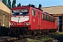"LEW 18276 - DB Cargo ""155 256-1"" 06.07.2001 - Leipzig-Engelsdorf, BetriebswerkOliver Wadewitz"