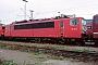 """LEW 18277 - DB AG """"155 257-9"""" 08.11.1998 - Mannheim, BetriebswerkErnst Lauer"""