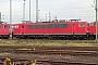 """LEW 18282 - Railion """"155 262-9"""" 05.12.2004 - Mannheim, BetriebswerkErnst Lauer"""