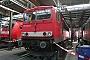 """LEW 18283 - Railion """"155 263-7"""" 16.09.2006 - Mannheim, BetriebswerkErnst Lauer"""