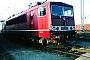 """LEW 18284 - DB AG """"155 264-5"""" 13.01.1996 - Mannheim, BetriebswerkErnst Lauer"""