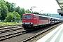 """LEW 18287 - DB Schenker """"155 267-8"""" 18.06.2009 - NeckarelzErnst Lauer"""