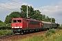 """LEW 18290 - DB Schenker """"155 270-2"""" 30.06.2009 - StralsundPaul Tabbert"""