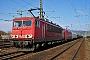 """LEW 18291 - DB Schenker """"155 271-0"""" 30.01.2014 - Saalfeld (Saale)Archiv www.br143.de"""