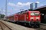 "LEW 18423 - DB Regio ""143 042-0"" 13.07.2005 - Freiburg (Breisgau), HauptbahnhofDieter Römhild"