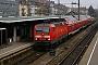 "LEW 18436 - DB Regio ""143 055-2"" 19.01.2006 - Freiburg (Breisgau), HauptbahnhofDieter Römhild"