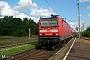 """LEW 18439 - DB Regio """"143 058-6"""" 08.09.2008 - Elsterwerda BiehlaMartin Neumann"""