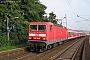 "LEW 18445 - DB Regio""143 064-4"" 03.07.2003 - Ostheim (b.Butzbach)Dieter Römhild"