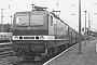 """LEW 18450 - DR """"243 069-2"""" 05.07.1986 - Rostock, HauptbahnhofSammlung Reinhard Lehmann"""