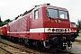 "LEW 18452 - DB Regio ""143 071-9"" 21.08.1999 - Leipzig-Engelsdorf, BetriebswerkOliver Wadewitz"