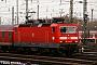 "LEW 18468 - DB Regio ""143 092-5"" 13.02.2009 - Stuttgart, HauptbahnhofDieter Römhild"