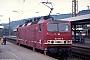 """LEW 18471 - DB Regio""""143 095-8"""" 14.08.1999 - Würzburg, HauptbahnhofUdo Plischewski"""