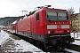"""LEW 18492 - DB Regio """"143 116-2"""" 06.03.2010 - Meißen-TriebischthalHellfried Richter"""