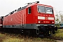 "LEW 18496 - DB Regio ""143 120-4"" 12.11.1999 - Leipzig-Engelsdorf, BetriebswerkOliver Wadewitz"