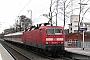 """LEW 18508 - DB Regio""""143 132-9"""" 06.01.2005 - Gießen, OswaldsgartenDieter Römhild"""