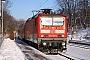"""LEW 18519 - DB Regio """"143 143-6"""" 10.01.2009 - Halle (Saale), SteintorbrückeJens Böhmer"""