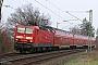 """LEW 18660 - DB Regio """"143 572-6"""" 04.04.2009 - Redwitz (bei Rodach)Bernhard Köppe"""