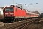 """LEW 18907 - DB Regio """"143 158-4"""" 03.02.2009 - Wiesbaden-BiebrichHagen Schilder"""
