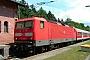 """LEW 18914 - DB Regio """"143 165-9"""" 21.06.2004 - JossaUwe König"""