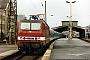 "LEW 18923 - DR ""143 174-1"" 23.12.1993 - Halle (Saale), HauptbahnhofHans-Peter Waack"