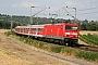 """LEW 18938 - DB Regio """"143 189"""" 25.07.2008 - NiederwallufHagen Schilder"""