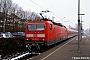 "LEW 18944 - DB Regio ""143 195-6"" 13.02.2009 - Marbach (am Neckar)Dieter Römhild"