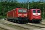 "LEW 18945 - DB Regio ""143 196-4"" __.04.2002 - Würzburg, BetriebswerkDaniel Hofmann"