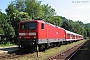 """LEW 19555 - DB Regio """"143 313-5"""" 04.06.2003 - Zell (Wiesental)Dieter Römhild"""