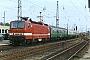 """LEW 19565 - DR """"143 323-4"""" 03.08.1992 - Rostock, HauptbahnhofHenk Hartsuiken"""