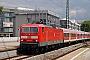 """LEW 19589 - DB Regio """"143 347"""" 14.07.2008 - Stuttgart-Bad CannstattJens Böhmer"""
