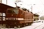 """LEW 20205 - DR """"143 811-8"""" 24.02.1993 - Reichenbach (Vogtl), oberer BahnhofFrank Weimer"""