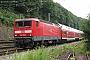 """LEW 20278 - DB Regio """"143 828-2"""" 29.06.2003 - Bad SchandauDieter Römhild"""