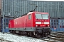 """LEW 20299 - DB Regio """"143 849-8"""" 02.02.2003 - Cottbus, BetriebswerkHeiko Müller"""