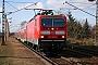"""LEW 20333 - DB Regio """"143 883-7"""" 27.02.2010 - Radebeul, Bahnhof WestSylvio Scholz"""