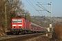 """LEW 20372 - DB Regio """"143 922-3"""" 12.03.2014 - BesigheimSören Hagenlocher"""