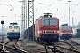 """LEW 20373 - DB """"143 923-1"""" 29.04.1991 - Freiburg (Breisgau), HauptbahnhofIngmar Weidig"""