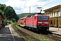 """LEW 20383 - DB Regio """"143 933-0"""" 20.06.2009 - Stadt WehlenJohannes Fielitz"""