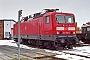 """LEW 20416 - DB Regio """"143 966-0"""" 25.03.2001 - Rostock, Betriebswerk DahlwitzhofHeiko Müller"""