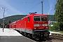 """LEW 20445 - DB Regio """"143 627-8"""" 12.07.2003 - NeckargemündAndreas Hägemann"""