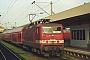 "LEW 20455 - DB Regio ""143 637-7"" 31.10.2001 - Mannheim, HauptbahnhofMarvin Fries"