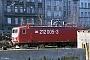 """LEW 20463 - DR """"212 005-3"""" 24.02.1991 - Halle (Saale), Bahnbetriebswerk PIngmar Weidig"""