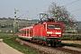 """LEW 20465 - DB Regio """"143 643-5"""" 06.04.2009 - NiederwallufHagen Schilder"""