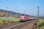 """LEW 20953 - DB Services """"143 645-0"""" 25.10.2008 - EichenzellMario Fliege"""