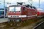 """LEW 20955 - DB Regio """"143 647-6"""" 10.12.1999 - Mannheim, HauptbahnhofErnst Lauer"""